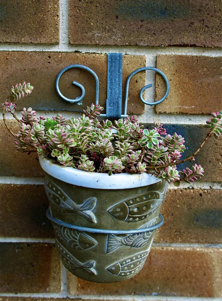 Plant Holder Brick Wall