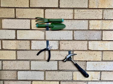 Brick Wall and Home Organisation
